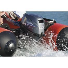 Подвесной 4-х тактный бензиновый лодочный мотор YAMAHA F20BMHS